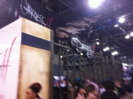 Darkness II NYCC 2011 Booth